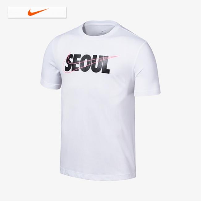 남성 나이키 드라이 핏 DFC 서울 시티 숏슬리브 티 NIKE CW0716-100