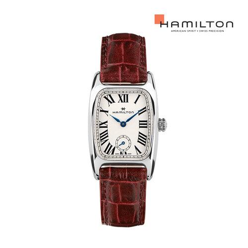[공식]해밀턴 H13321811 아메리칸클래식 볼튼 레드 여성 시계 M